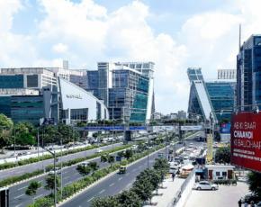 Cidade privada de Gurgaon na Índia