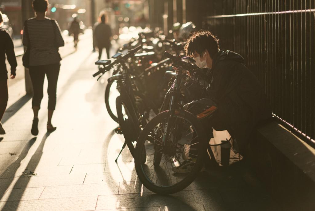 Para muitos brasileiros, a bicicleta se tornou a melhor opção para se locomover durante a quarentena. (Fonte: Pexels)