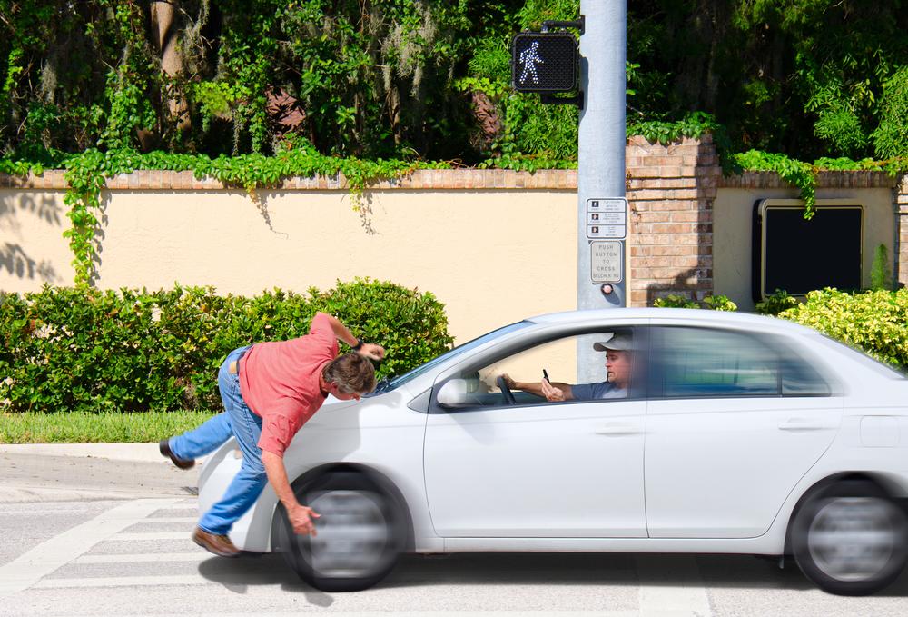 Pedestres são as maiores vítimas dos acidentes de trânsito no Brasil. (Fonte: Shutterstock)