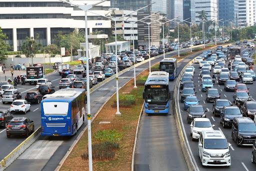 Um exemplo de BRT é de Jakarta (Indonésia). (Fonte: Joko SL/Shutterstock/Reprodução)
